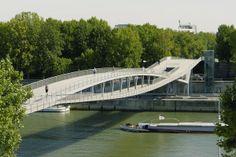 Voetgangersbrug Simone de Beauvoir in Parijs door Feichtinger Architectes - alle projecten - projecten - de Architect
