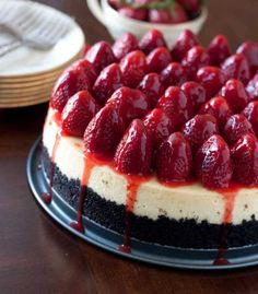Strawberry Cheesecake Recipe « Cake Recipes From Scratch