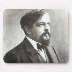 Shop Claude Debussy, Mouse Pad created by bridgemanimages. Wedding Color Schemes, Wedding Colors, Head & Shoulders, Custom Mouse Pads, Corner Designs, French Artists, Marketing Materials, Videos Funny, Image Collection