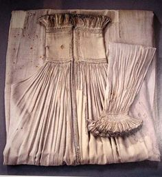 Shirt of Nil Stures murdered in 1567 is now located in Uppsala, Sweden