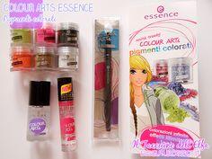 Pigmenti colorati Colour Arts @essence cosmetics