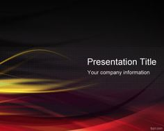 Psychology kids powerpoint template medical powerpoint templates red hot powerpoint template with dark background is a free abstract template for hot presentations with fire flames and dark background color toneelgroepblik Images