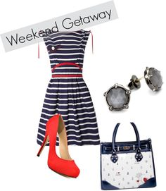 """Dressy Nautical"" by mariaeire on Polyvore"