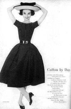Audrey Hepburn Harper's Bazaar, 1957 by Richard Avedon.