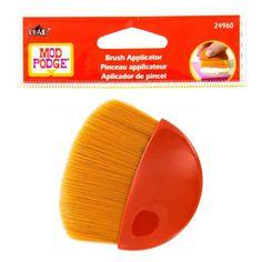 "Mod Podge 2 1/4"" Gold Taklon Brush Applicator"