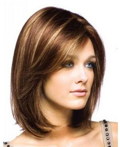Shoulder cut hairstyle for girls