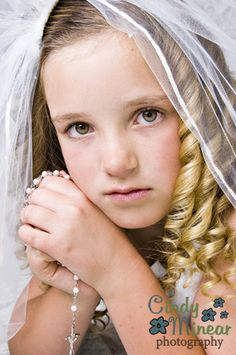 First Holy Communion Portrait