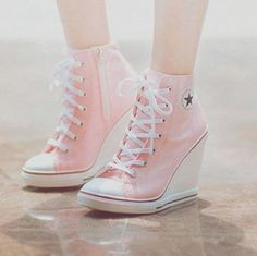 Converse heels <3
