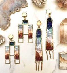 Post with 5901 views. Moon Earrings, Cross Earrings, Moon Necklace, Star Earrings, Beaded Earrings, Earrings Handmade, Channel Earrings, Green Chandeliers, Rainbow Magic