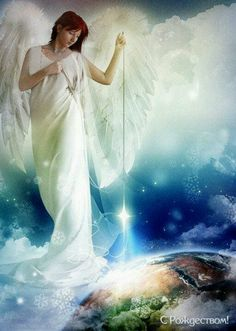 Angels are among us   ....The Lord sends angles to watch over us and help us. There's one just over your shoulder.