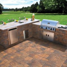 Outdoor Kitchen Bar Design, Pictures, Remodel, Decor and Ideas