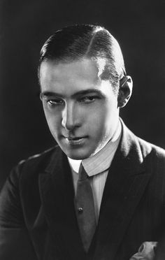 """Women are not in love with me but with the picture of me on the screen.  I am merely the canvas upon which women paint their dreams."" -Rudolph Valentino"