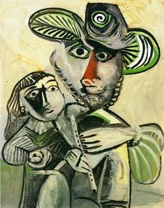 Pablo Picasso「Paternity」(1971)