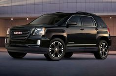 2017 GMC Terrain Adds Blacked-Out Nightfall Edition. GM continues with black special editions.