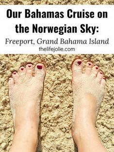 Here's some info and tips about our Bahamas cruise on the Norwegian Sky and Freeport, Grand Bahama Island. We had an amazing time!