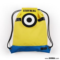 STAYREAL x Minions 抽繩包 - STAYREAL線上商店