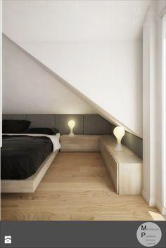 Sypialnia styl Nowoczesny - zdjęcie od Manufaktura Projektów