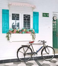 Shabby Chic   Exterior   American Victorian With Shabby Chic House   Jakarta   Rumah Sabine