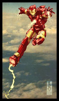 infinity-comics:  Iron Man byMark Brooks(Diablo2003) -Twitter