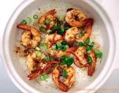 Tom Yum Prawns Claypot Rice Recipe