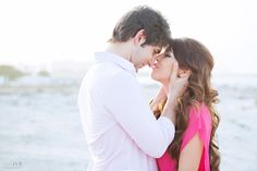 Engagement shoot in Dubai by wedding photographer JVR. A desert backdrop is pretty and romantic