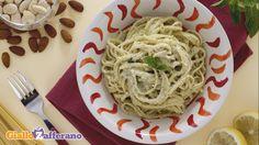 Ricetta Linguine con pesto di mandorle - Le Ricette di GialloZafferano.it
