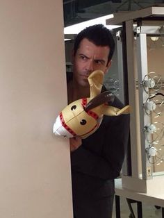 Jordan Knight. Not many people know this about him but he is SO funny!