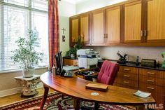 32425 Archdale has a great #homeoffice with a custom semi-circular desk. The rest of the home is absolutely SPECTACULAR!  $1,945,000 - 3 BR, 3 Full Baths, 2 Partial Baths; 5,655 SF, 2.500 Acres; #MillionDollarHome #GovernorsClubRealty