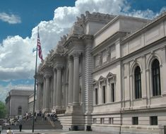 The Metropolitan Museum of Art is one of the most famous museums in the world, and is only a short train ride away in New York City!