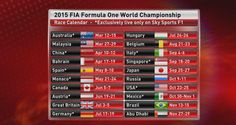F1 in 2015: The driver line-ups, car launches and test & race schedules for next season | Features & Experts | Sky Sports Formula 1