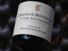 """Chassagne-Montrachet 1er Cru """"Les Caillerets"""" 2010. Domaine Fontaine-Gagnard…"""