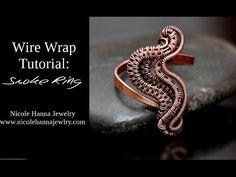 Wire Wrap Tutorial SMOKE RING - YouTube