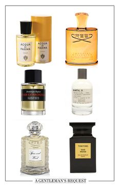 Fragrance Friday!! Here are some of our favorite! But you pick the one that best on you! Acqua Di Parma Colonia Eau De Cologne Natural Spray At Barney's FRÉDÉRIC MALLE Vetiver Extraordinaire At Barney's Creed Spice and wood Creed Imperial Millesime Le Labo Santal 33 Tom Ford Oud Wood