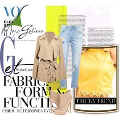 . by malicefashionworld on Polyvore featuring moda, Paige Denim, Chinese Laundry and Vera Wang