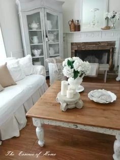 20 Amazing Shabby Chic Living Rooms