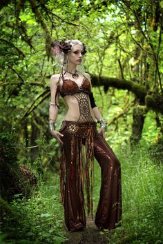 tribal bellydance woodland faerie  costume by enchanteddreamwear, $499.00