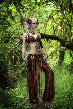 tribal bellydance woodland faerie  costume by enchanteddreamwear, $499.00