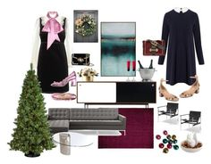 """""""What to wear for Christmas"""" by malinandersson on Polyvore featuring Gucci, Ganni, Valentino, Proenza Schouler, Prada, Match, Baccarat and General Foam"""