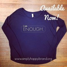 Women's i am enough giving tee