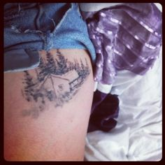 I wouldn't think twice or ever regret having a tattoo of bon iver's cover art or gregory euclide's artwork for that matter