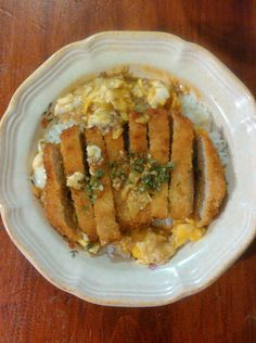 [Homemade] Katsudon for dinner last night! #recipes #food #cooking #delicious #foodie #foodrecipes #cook #recipe #health