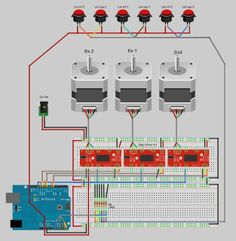 Techno: Easy Driver With Arduino