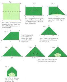 origami tent - Abraham leaving Ur