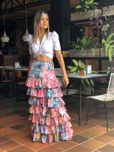 Asian Style, Skirt Fashion, Designer Dresses, Casual Outfits, Street Style, Clothes For Women, Frocks, Skirts, Two Piece Skirt Set