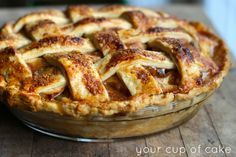 egg wash your apple pie