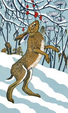 Robert Gillmor 'Bryony Hare'  Nearly fell over when i first saw the name of this, My daughter is called BRYONY HARE!