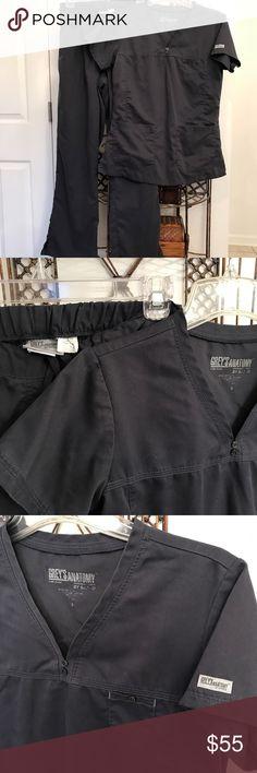 Scrub Set Charcoal gray scrub set! Softness at its BEST! Grey's Anatomy Other