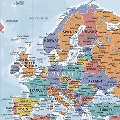 Build your own up-to-date travel map with a DIY map of the world from Push Pin Travel Maps. Travel Map Pins, Travel Maps, New Travel, Places To Travel, Travel Europe, Travel Packing, Travel Pictures, Travel Photos, Travel Ideas