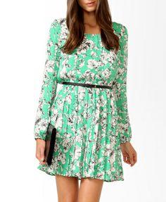 Essential Sketched Floral Dress | FOREVER21 - 2031557625