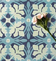 Great source for encaustic tiles and period wallpaper
